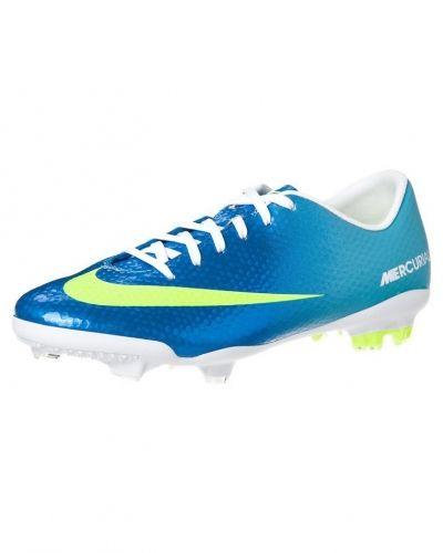 Nike Performance JR MERCURIAL VAPOR IX FG Fotbollsskor fasta dobbar Blått - Nike Performance - Fasta Dobbar