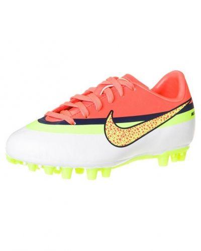 Nike Performance JR MERCURIAL VICTORY IV CR AG Fotbollsskor fasta dobbar Vitt - Nike Performance - Fasta Dobbar