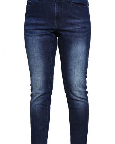 Jrfive jeans slim fit dark blue denim JUNAROSE slim fit jeans till dam.