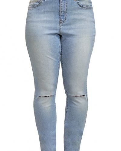 Jrfive jeans slim fit light blue denim JUNAROSE slim fit jeans till dam.