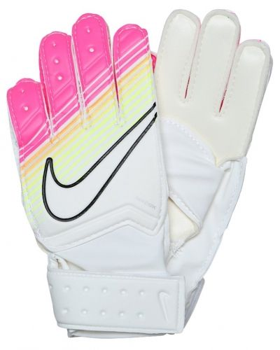 Nike Performance Nike Performance JUNIOR MATCH GOALKEEPER Målvaktshandskar white/pink blast