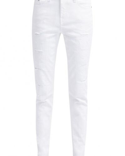 Jeans KARL LAGERFELD KARO Jeans slim fit destroyed white från KARL