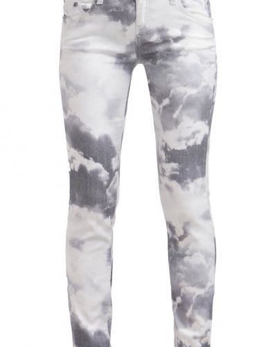 KARL KARL LAGERFELD KARO Jeans slim fit white