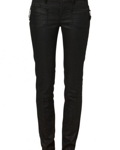 Svart slim fit jeans från Mos Mosh till dam.