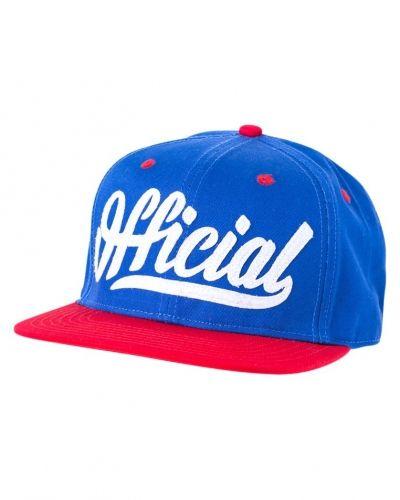 Keps Official SKATE Keps blue/red från Official