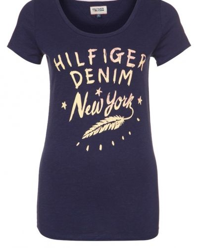Blå t-shirts från Hilfiger Denim till dam.