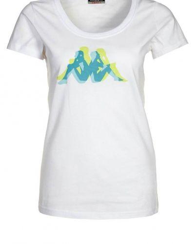 Kappa LIA Tshirt med tryck Vitt - Kappa - Kortärmade träningströjor