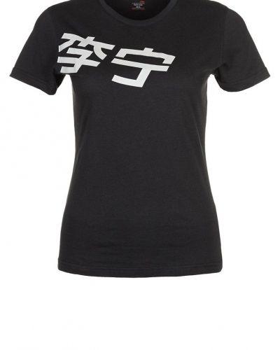 LINING Tshirt bas Svart - LI-NING - Kortärmade träningströjor