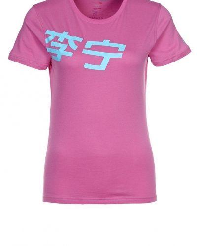 LINING Tshirt med tryck Ljusrosa - LI-NING - Kortärmade träningströjor