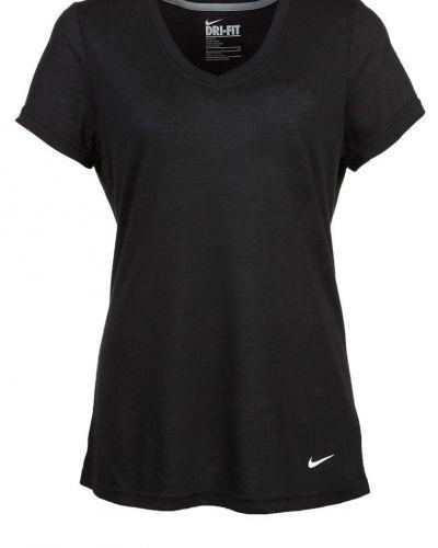 Loose tri blend funktionströja från Nike Performance, Kortärmade träningströjor