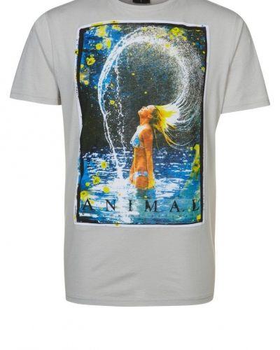 Animal LORETTO Tshirt med tryck Grått - Animal - Kortärmade träningströjor