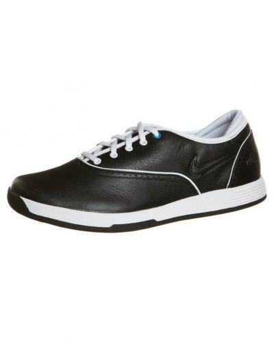 Nike Golf LUNAR DEUCE CLASSIC Golfskor Svart - Nike Golf - Golfskor