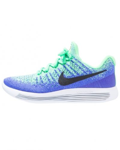 Nike Performance Lunarepic flyknit 2 neutrala löparskor ghost green/metallic silver/electro green/pure platinum/white/black