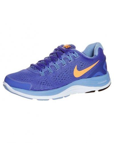 Nike Performance Nike Performance LUNARGLIDE+ 4 Löparskor stabilitet Blått. Traningsskor håller hög kvalitet.