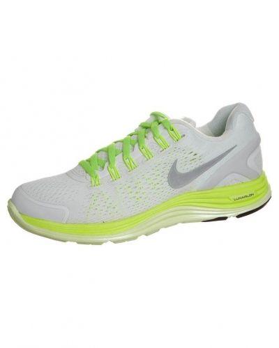 Nike Performance Nike Performance LUNARGLIDE+ 4 OG Löparskor stabilitet Vitt. Traningsskor håller hög kvalitet.