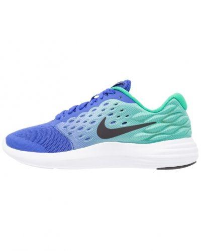 Lunarstelos neutrala löparskor blue/black/stadium green/white Nike Performance löparsko till mamma.
