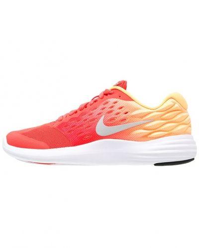 Löparsko Nike Performance LUNARSTELOS Neutrala löparskor ember glow/metallic silver/peach cream/white från Nike Performance