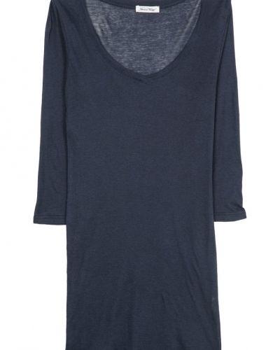 American Vintage MASSACHUSSETS Tshirt långärmad Blått - American Vintage - Långärmade Träningströjor