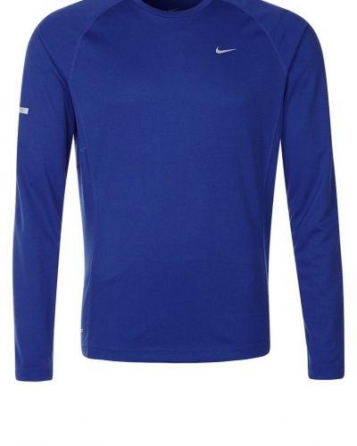 Nike Performance MILER Tshirt långärmad Blått från Nike Performance, Långärmade Träningströjor