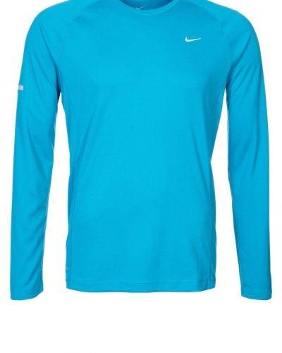 Nike Performance MILER Tshirt långärmad Turkos från Nike Performance, Långärmade Träningströjor