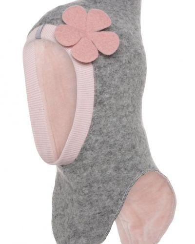 Mössa light grey/rosa Huttelihut mössa till mamma.
