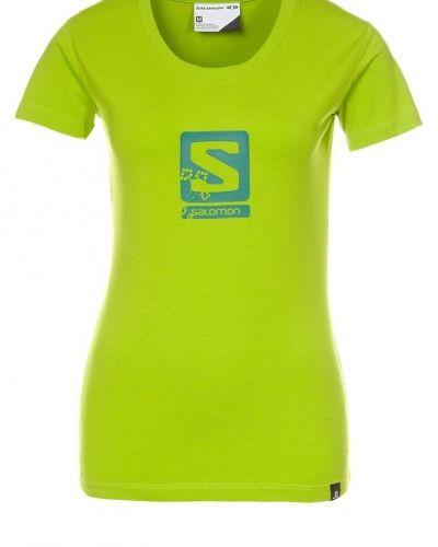 Salomon MOUNTLOGO Tshirt med tryck Grönt från Salomon, Kortärmade träningströjor