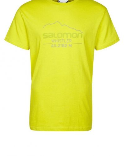 Mountlogo tshirt med tryck från Salomon, Kortärmade träningströjor