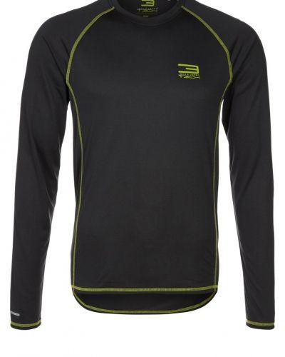 Jack & Jones Tech MOVER Tshirt långärmad Svart - Jack & Jones Tech - Långärmade Träningströjor