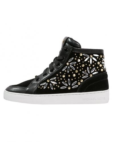 MICHAEL Michael Kors MICHAEL Michael Kors NADINE Höga sneakers black