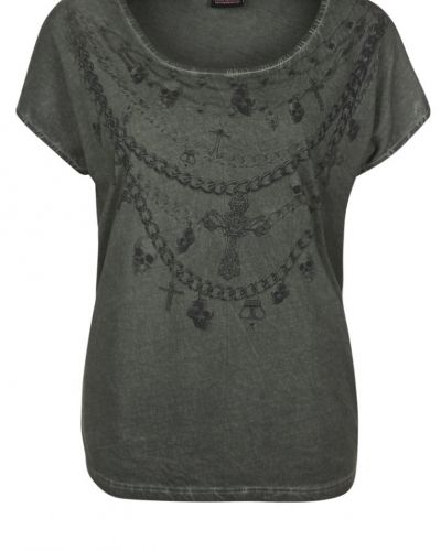 ONLY ONLY NECKLACE SCULL Tshirt bas