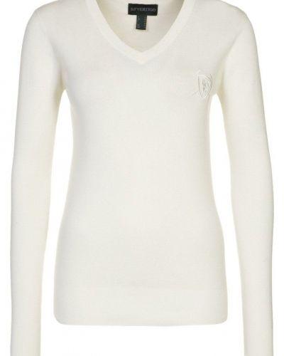 BVertigo NELLY Stickad tröja Vitt - BVertigo - Långärmade Träningströjor