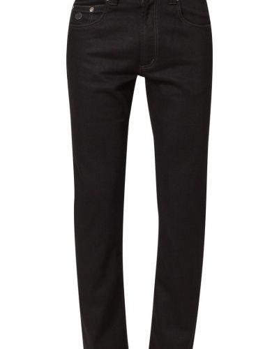 Svart straight leg jeans från Bugatti till herr.