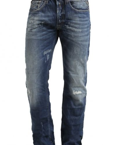 Newbill jeans straight leg blau Replay straight leg jeans till dam.