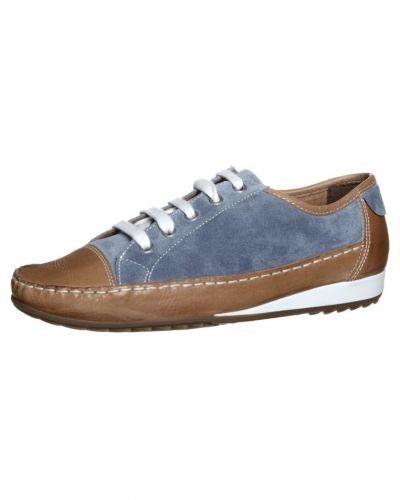 Blå sneakers från ara till dam.
