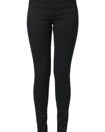 Slim fit jeans 2ndOne NICOLE Jeans slim fit satin black från 2ndOne