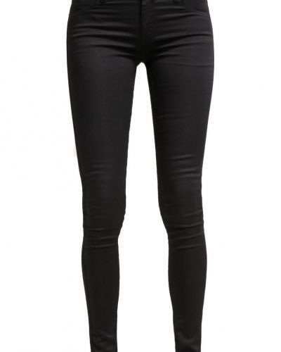 Slim fit jeans 2ndOne NICOLE Jeans slim fit moon black satin från 2ndOne