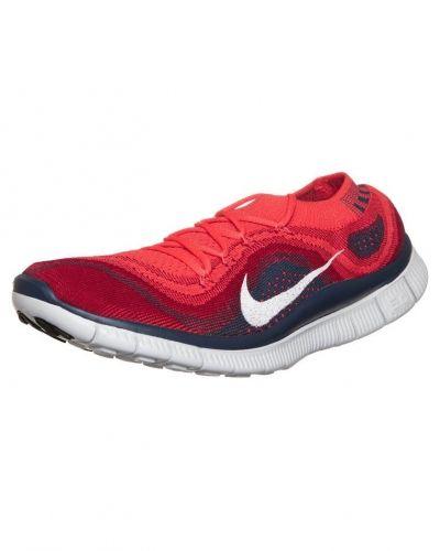 Nike Performance NIKE FREE FLYKNIT+ Löparskor extra lätta Rött från Nike Performance, Löparskor