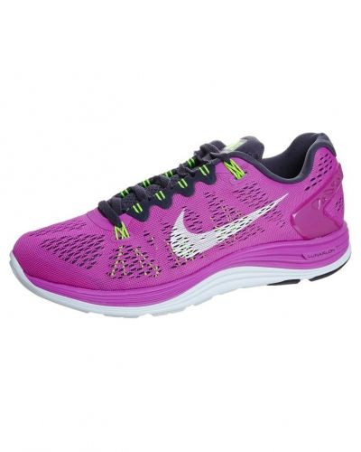 Nike Performance NIKE LUNARGLIDE(+) 5 Löparskor stabilitet Ljusrosa från Nike Performance, Löparskor