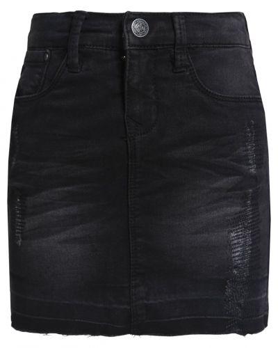 Nitclik jeanskjol black denim Name it jeanskjol till tjejer.