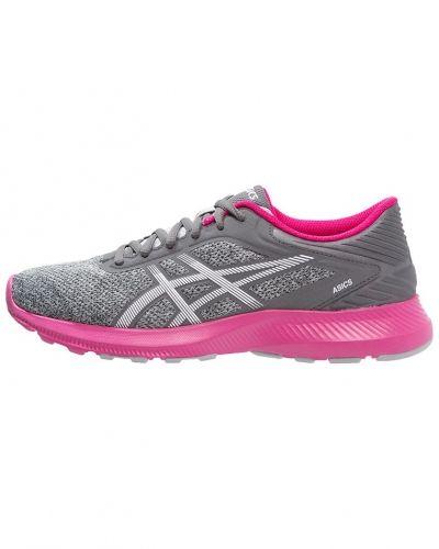 Nitrofuze löparskor dämpning midgrey/white/sport pink ASICS löparsko till mamma.