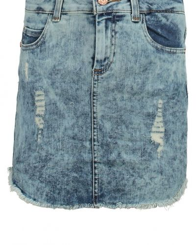 Nmfran jeanskjol medium blue denim Noisy May jeanskjol till tjejer.