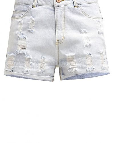 Nmharper jeansshorts light blue denim Noisy May jeansshorts till tjejer.