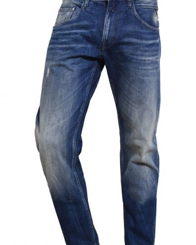 Numasig jeans relaxed fit blue denim Replay loose fit jeans till dam.