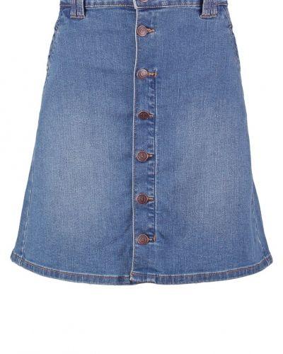 Objlou jeanskjol medium blue denim Object jeanskjol till tjejer.