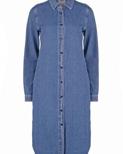 Objmilo jeansklänning medium blue denim Object jeansklänning till tjejer.