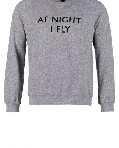Till killar från Uniforms for the Dedicated, en grå sweatshirts.