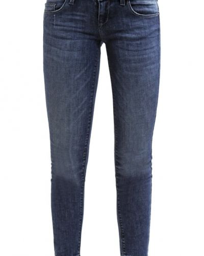 Onlcoral jeans slim fit dark blue denim ONLY slim fit jeans till dam.