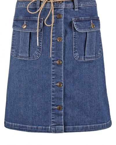 Onlfarrah jeanskjol medium blue denim ONLY jeanskjol till tjejer.