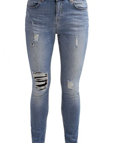 Relaxed fit jeans ONLY ONLLISE Jeans relaxed fit dark blue från ONLY