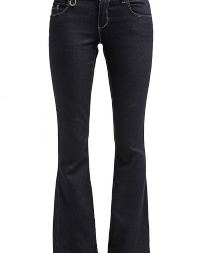 Bootcut jeans ONLY ONLNEW EBBA Jeans bootcut dark blue denim från ONLY